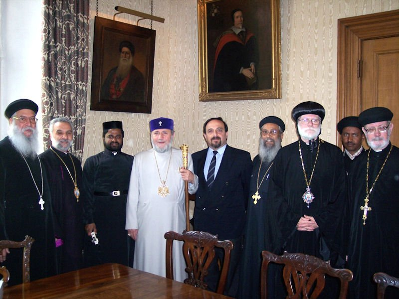 Visit of HH. Catholicos Karekin II, 2004