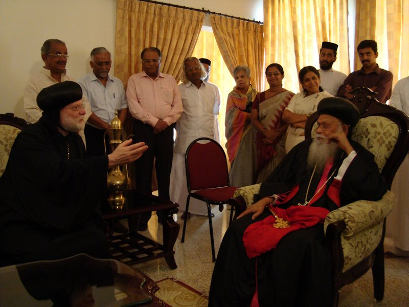 With HH Baselios Mar Thoma Didimos, Catholicod of the East, 2010
