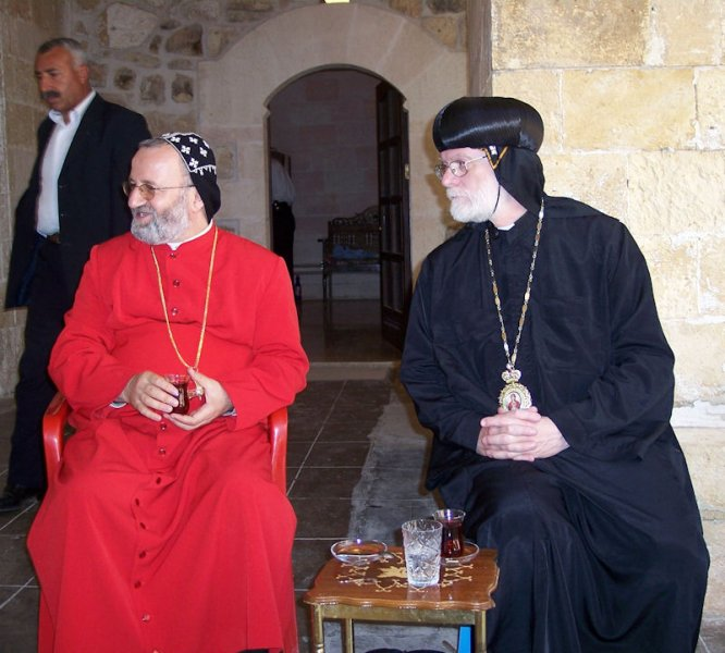 With Mor Philoxenos of Mardin