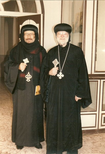 With Metropolitan Bishoy of Damiette