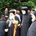 With HH Pope Shenouda in Birmingham