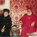 With HH Patriarch Mor Ignatius Zakka I, 2000