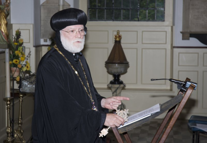 Abba Seraphim giving an address, 2007