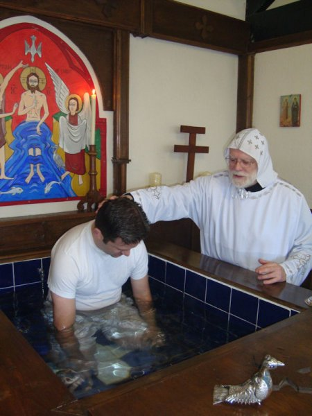 Baptism at Cusworth Church, 2010