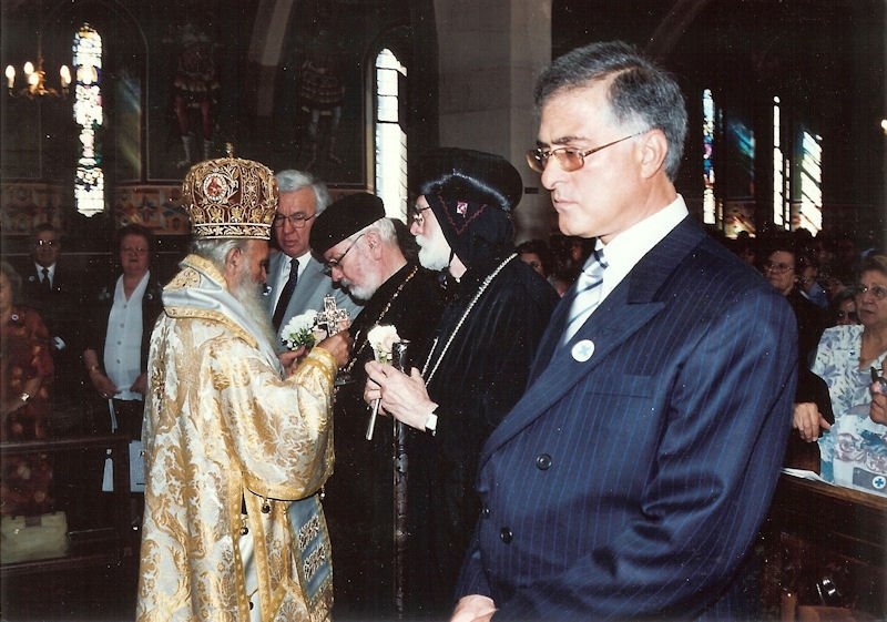 Holy Cross Day in Greek Church, Golders Green,  2003