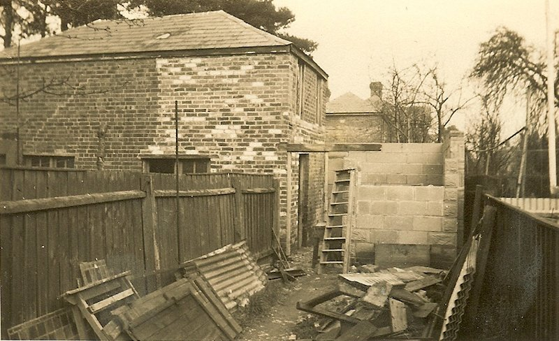 Bournemouth Church under construction 1951