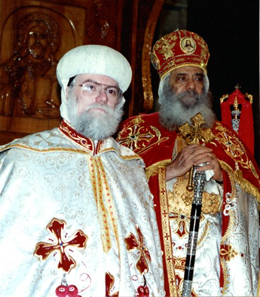 Consecration as Metropolitan in Cairo, 1994