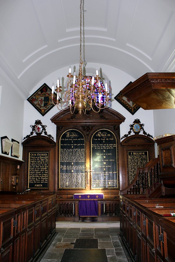 The Chapel of Morden College, Blackheath