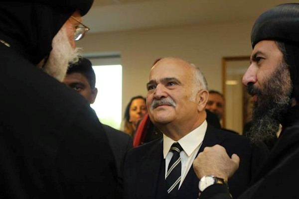 With Prince Hassan