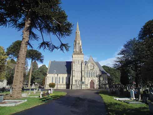 Wimborne Road Cemetery_The-Chapel